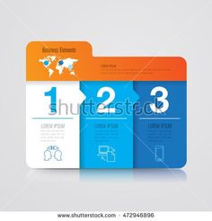 Infographic design vector and marketing icons can be used for workflow layout, diagram, annual report, web design. Business concept with 3 options, steps or processes. Organizational Chart, Lorem Ipsum, Vector Art, Infographic, Royalty Free Stock Photos, Web Design, Diagram, Layout, Concept