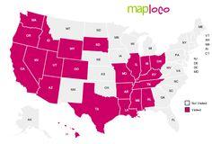 States I've Visited: AL, AR, AZ, CA, CO, HI, ID, IL, IN, KY, LA, MO, MS, NV, OH, OR, SD, TN, TX, UT, WA, WY