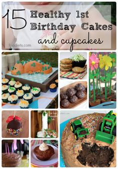 15 healthy first birthday cakes - low-sugar, sweetened with honey ...