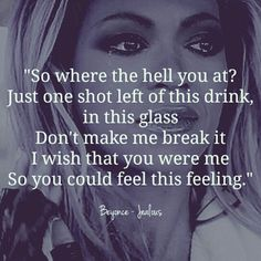 Jealous Beyonce Quote
