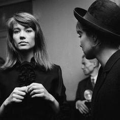 barcarole:Françoise Hardy and Anna Karina by Roger Kasparian.