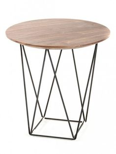 Wood Wire Side Table1 e1435091267247