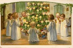 Weihnachten vor hundert Jahren