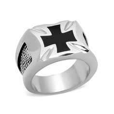 Free Express Shipping Falcon Jewelry 925 Sterling Silver Men Ring Geometric Shapes Triangular Pyramid Star