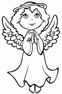 dibujos de angeles 1