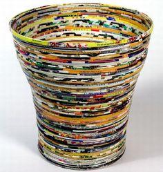 quadros com reciclagem de papel - Pesquisa Google