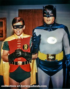 Good pic of Batman and the Boy Wonder