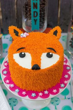 Fox Birthday Party Ideas | Photo 8 of 18