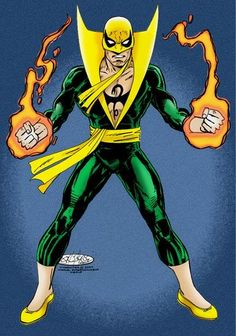 Iron Fist by John Byrne Marvel Comics, Marvel Comic Universe, Marvel Art, Marvel Heroes, Marvel Avengers, Marvel Comic Character, Marvel Comic Books, Marvel Characters, Comic Books Art
