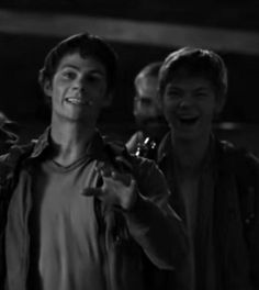 Dylan O´Brien and Thomas Sangster - the scorch trials behind the scenes