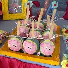 Resultado de imagem para peppa pig maçãs decoradas