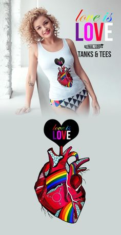 The following is a collection of creative LGBT Pride shirts and tank tops you'll love. Show your pride with our these beautiful pride heart clothing! Rock a Love Wins or a Love is Love shirt. The coolest gay pride shirt for a pride parade or just for hanging with friends. The best quality LGBT inspired tank tops and LGBT T-shirts. All orders are custom made and most ship worldwide within 24 hours. Order yours today! Visit kenallouis.com #prideshirt #LGBTpride #LGBTShirts #prideheart Free T Shirt Design, Shirt Designs, Gay Pride Shirts, Cool Graphic Tees, Pride Parade, Love Shirt, Cool T Shirts, Most Beautiful, Design Products