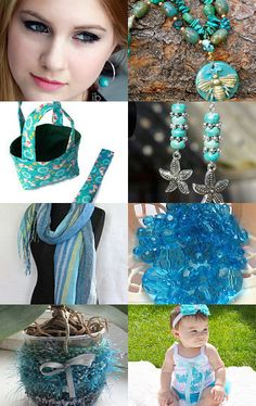 Summer Turquoise by gclasergraphics on Etsy--Pinned with TreasuryPin.com