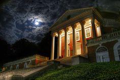 The Rotunda at night - Photograph by David Sawchak (Col '11)