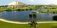 Gran Melia Cancun / Campo de golf de 9 hoyos, par 3.