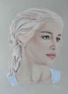 Daenerys Targaryen - Game of Thrones,Khaleesi,stormborn,Zeichnung,Drawing