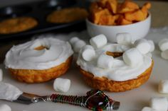 Sweet Potato Donuts! The perfect Thanksgiving Breakfast!