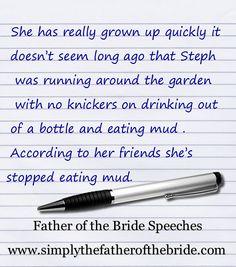 Bride S Father Schwedding