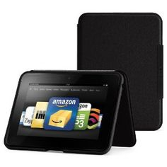 """Amazon Kindle Fire HD 7"""" Standing Leather Case, Onyx Black (will only fit Kindle Fire HD 7"""") Use this affiliate link to get this awesome deal today!!"""