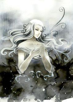 Faith by =Maevachan #Painting #Fantasy