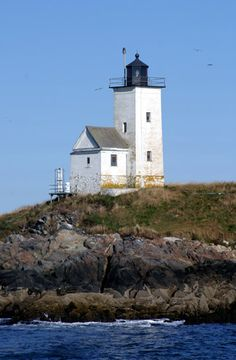 Location: Located on Two Bush Island, 5.7 miles east of Tenants Harbor.  Latitude: 43.96436  Longitude: -69.07374
