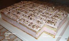 Receptek, és hasznos cikkek oldala: Tejszínes eperjoghurtos sütemény Izu, Cheesecake, Bread, Food, Cheese Pies, Cheesecakes, Breads, Baking, Meals