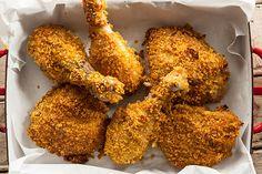 Oven-Fried Buttermilk Chicken