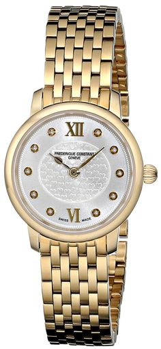 Buy Frederique Constant Analogue Mop Dial Women s Watch - FC-200WHDS5B  Online at Low Prices in India - Amazon.in aa1cef91e6