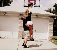 My dream(: a basketball boyfriend.