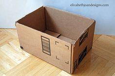 Before: Amazon Box - GoodHousekeeping.com