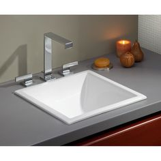 Cheviot 1179 Wh Universal White Drop In Or Undermount Single Bowl Bathroom Sinks
