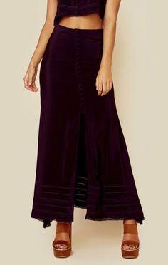 Tru blu ladder stitch skirt