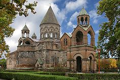 Mother Cathedral of Holy Etchmiadzin ~ Ejmiatsin, Republic of Armenia....