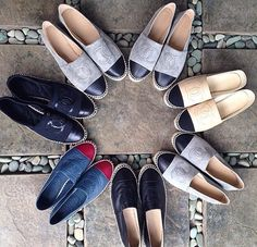 can i have all of them? #chanel #espadrilles one pair down, 6 more to go...lol #dream