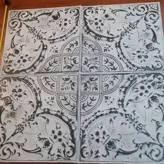Best Tin Tile (ceiling / Wall) for sale in Round Rock, Texas for 2019 Faux Tin Ceiling Tiles, Tin Tiles, Stove Backsplash, Backsplash Ideas, Plank Ceiling, Ceiling Texture, Fireplace Inserts, Ceiling Medallions, Ceiling Design