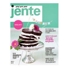 Jente magazine cover taart ontwerp Studio Vrolijk www.studiovrolijk.nl