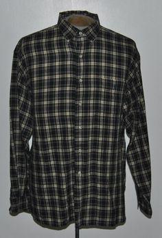 Mens Ralph Lauren Polo Shirt XL McMeel Blue Plaid Button-Down Cotton LongSleeve  #RalphLaurenPolo free shipping auction starting at $12.99