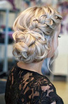 medium hair tutorial twists medium hair updo casual beautiful