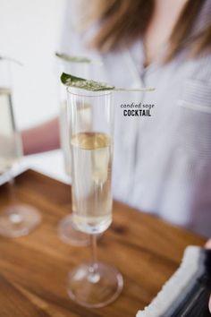 Candied Sage Cocktail: http://www.stylemepretty.com/living/2015/03/12/candied-sage-cocktail/ | Photography: Birdiegirl - http://thebirdiegirlco.com/