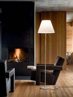 Luceplan Costanza Floor white frame alu #lamplight