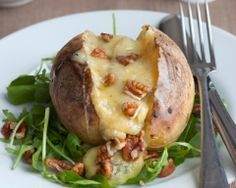 Pommes de terre au roquefort