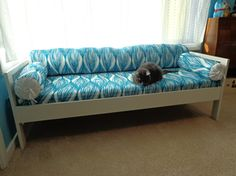 5 Space Making Ikea Hacks: A DIY Sofa for Small Spaces