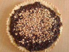 Tarta de pastelera al chocolate con mani!