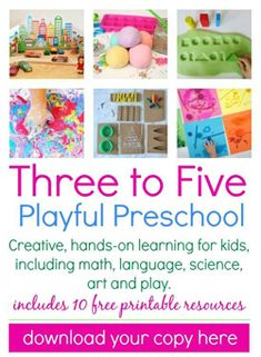 3 - 5 Playful Preschool ebook