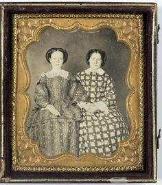Two Women holding Hands, 1850s