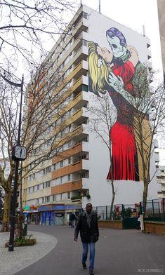 https://flic.kr/p/22JWiao   D*FACE   Paris You can find this wall here: benedicte59.wordpress.com/2018/01/26/les-grands-murs-du-x...