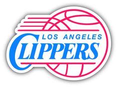 Los Angeles Clippers NBA Basketball Sport Logo Bumper Sticker Decal 5 x 4