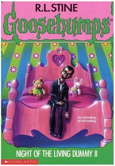My first Goosebumps book, and definitely not the last! To this day I'm terrified of Ventriloquist Dummies...