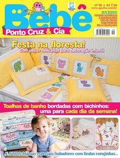 Artesanato - Bordados : BEBE PONTO CRUZ & CIA 099 - Editora Minuano