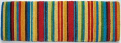 Whether your style is Mediterranean or Contemporary the bold colours of our Stripes Doormat are fun and welcoming.